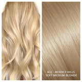 KERATIN BOND NAIL TIP #22 - BEVERLY HILLS - SOFT MEDIUM BLONDE RUSSIAN HAIR EXTENSIONS