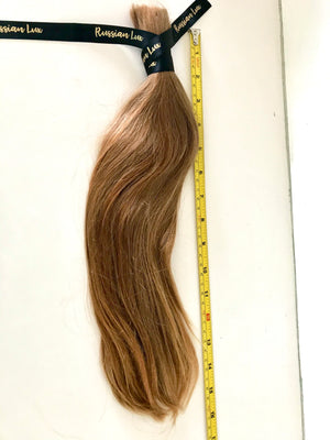 "Strawberry Blonde 16"" 86 Grams Russian Virgin Ponytail"