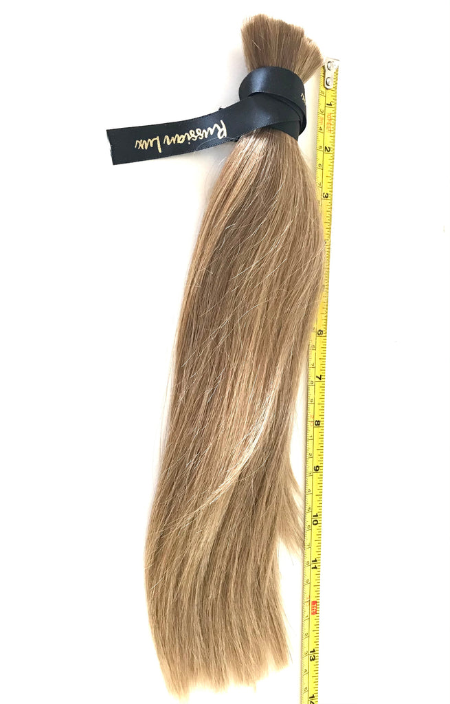 "Blonde 13"" 81 Grams Russian Virgin Ponytail"