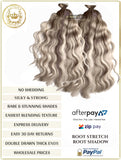 ROOT STRETCH OMBRE / BALAYAGE - RUSSIAN TAPE HAIR EXTENSIONS 50 GRAMS 20 PIECES