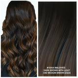 OMBRE / BALAYAGE LONG ROOT STRETCH - RUSSIAN TAPE HAIR EXTENSIONS 10A GRADE 50 GRAMS 20 PIECES