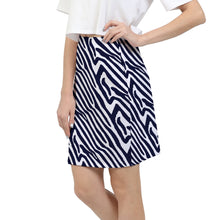 Zebra Print Women's Mini Skirt