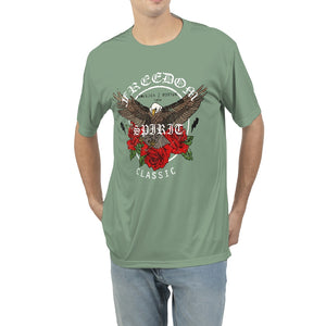 Freedom Spirit Graphic Men's Tee