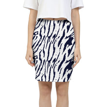 Tiger Print Women's Mini Skirt