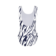 Tiger Print Women's One-Piece Swimsuit