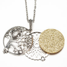 Essential Oil Aromatherapy Locket Necklace
