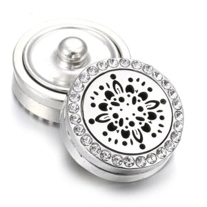 New Aromatherapy 18mm Snap Buttons Essential Oil Diffuser