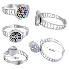 Essential Oil Diffuser Bracelet - Stainless Steel