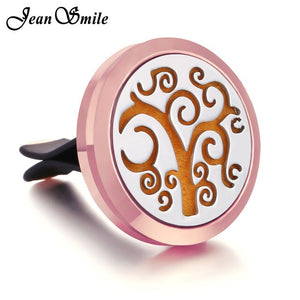 Rosegold Aromatherapy Car Essential Oil Diffuser - Stainless Steel