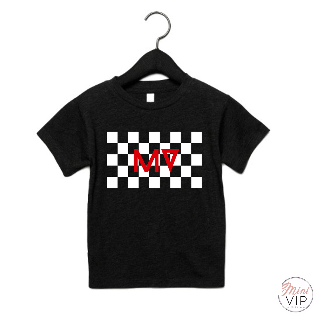 MV checkered t-shirt