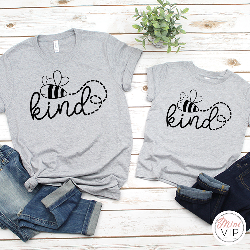 Bee Kind - Grey T-Shirt