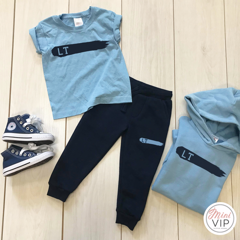 Personalised Summer Blues Tracksuit Lounge Set