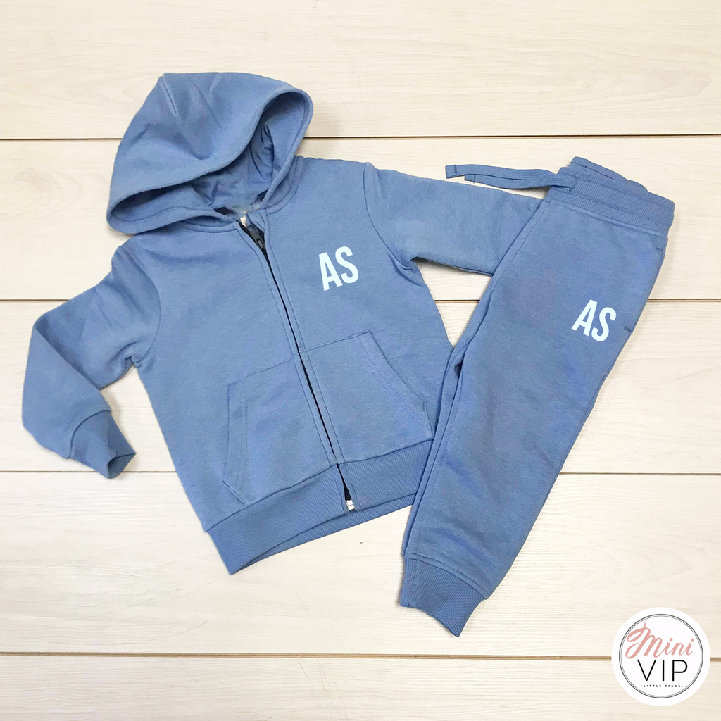 Blue Hues Spring/Summer Tracksuit Set