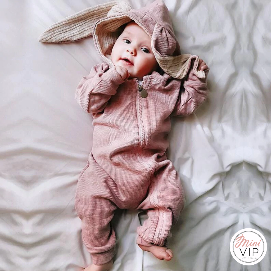 Cute Bunny Romper/All in One - personalisation available