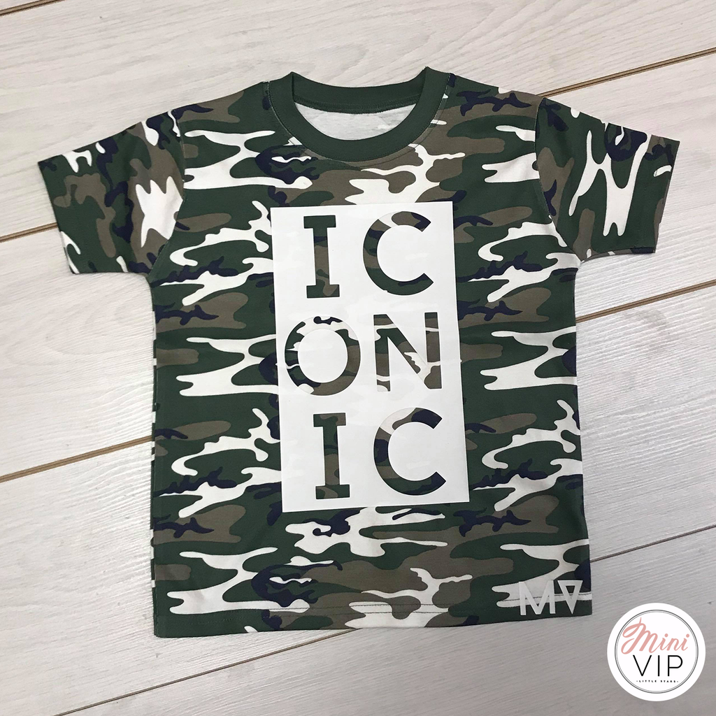 Iconic - Camo t-shirt - MV originals