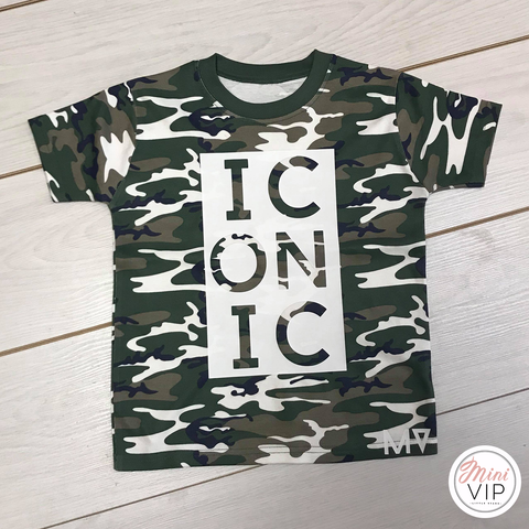 Image of Iconic - Camo t-shirt - MV originals