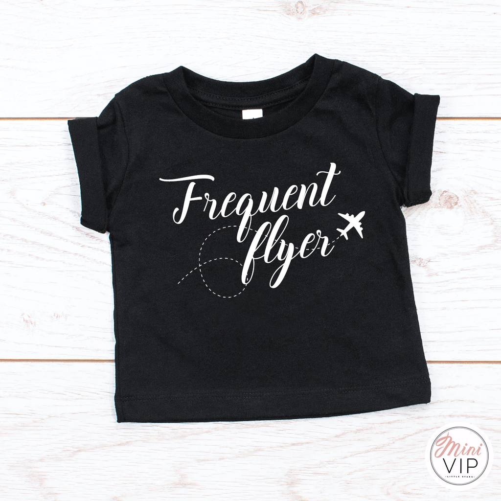 Frequent Flyer Airplane T-Shirt