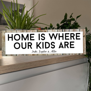 Home is where ... Personalised Street Sign