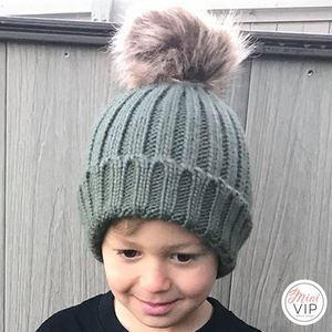 Khaki Beanie Hat - Infants, Junior & Adult sizes