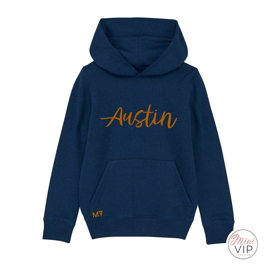 Personalised Navy Mini VIP Hoodie