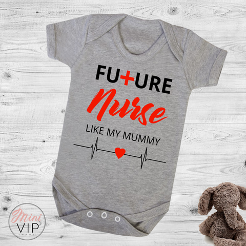Image of Future Nurse Just Like Mummy bodysuit