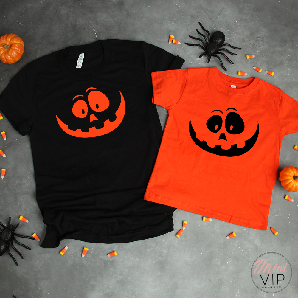 Pumpkin Family Twinning Shirts