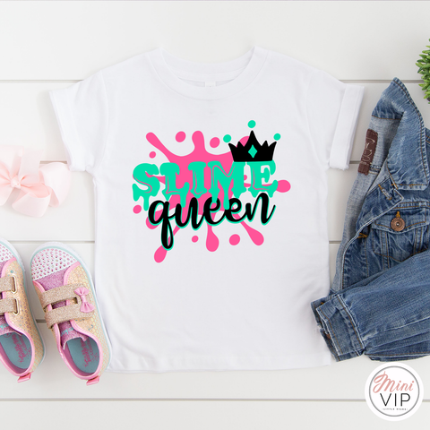 Slime Queen White T-Shirt
