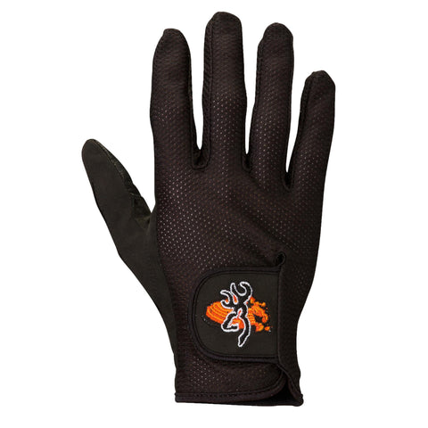 Survival Nerdz - Mesh Back Shooting Gloves - Black, Large, Clothing & Apparel,Browning