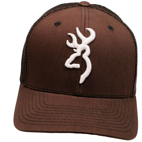 Survival Nerdz - Cap - Colstrip Mesh Back, Dark Brown, Large-X-Large, Clothing & Apparel,Browning