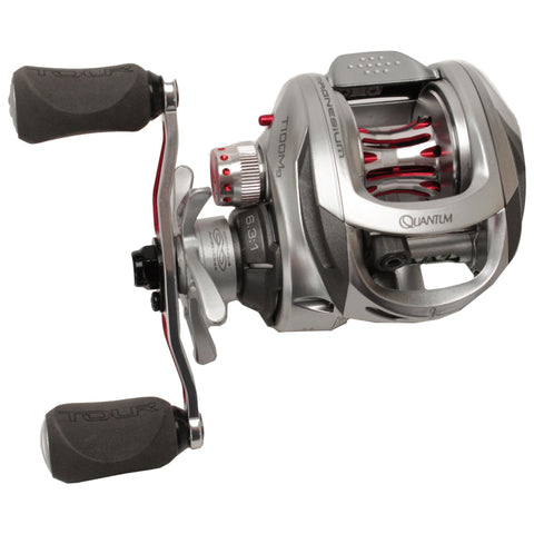 Survival Nerdz - Tour 100 Mg Right Hand Baitcast Reel - 6.3:1, Fishing,Zebco / Quantum