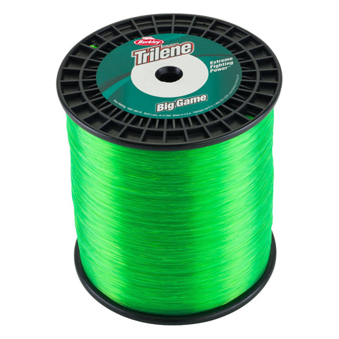 "Survival Nerdz - Trilene Big Game Monofilament Spool - 3270 Yards, 0.028"" Diameter, 50 lb Breaking Strength, Solar Collection, Fishing,Berkley"