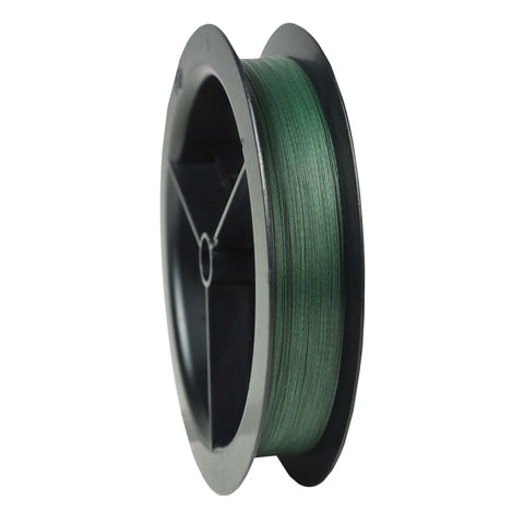 "Survival Nerdz - Stealth Superline Line Spool - 3000 Yards, 0.014"" Diameter, 50 lbs Breaking Strength, Moss Green, Fishing,Spiderwire"