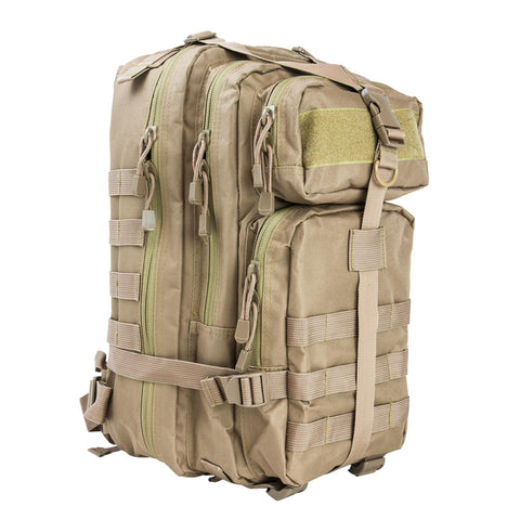 Survival Nerdz - Small Backpack - Tan, Backpacks,NcStar