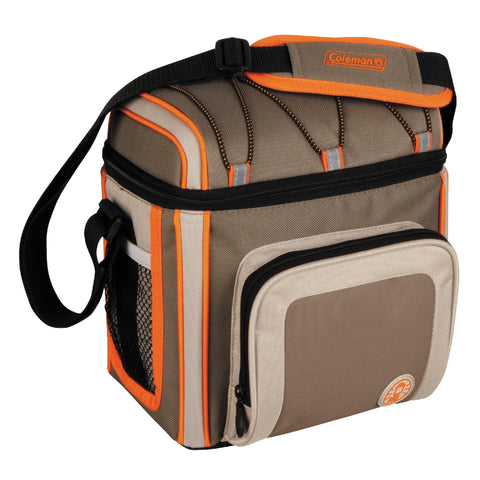 Survival Nerdz - Soft Side Cooler - with Liner, 9 Can, Outdoor, Cases & Bags Specialty,Coleman