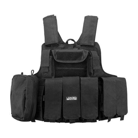 Survival Nerdz - Loaded Gear Tactical Vest - VX-300, Black, Clothing & Apparel,Barska Optics