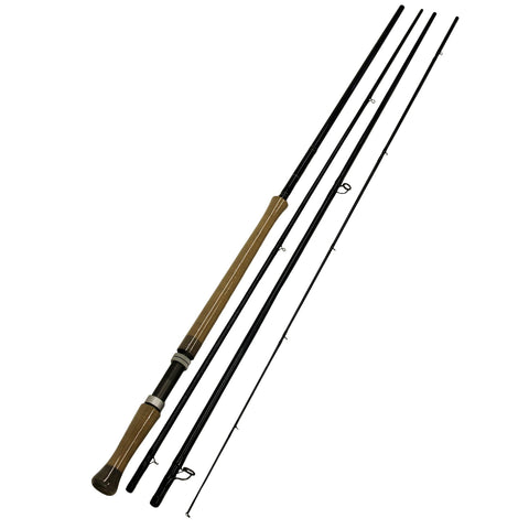 Survival Nerdz - AETOS Fly Rod - 14' Length, 4 Piece Rod, 9-10wt Line Rating, Fly Power, Fast Action, Fishing,Fenwick