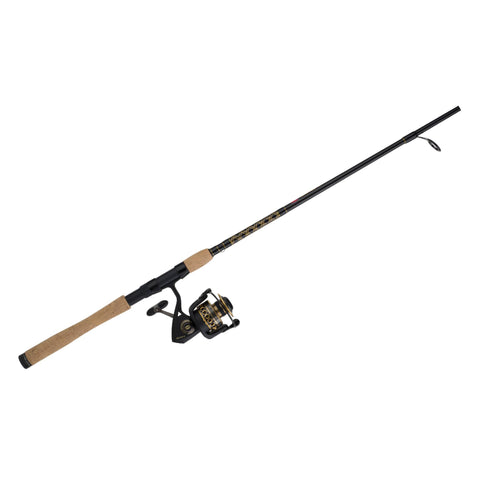 Battle II Spinning Combo - 6000, 5.6:1 Gear Ratio, 9' 2 Piece Rod, 15-30 lb Line Rate, Medium-Heavy Power