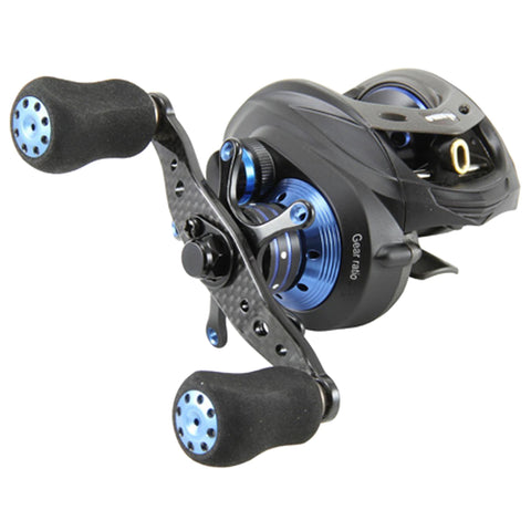 Survival Nerdz - Helios TCS LP 8+1 BB Reel - 6.6:1, Fishing,Okuma