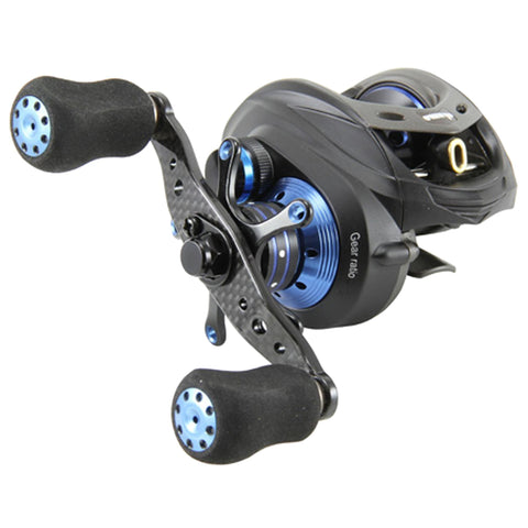 Survival Nerdz - Helios TCS LP 8+1 BB Reel - 7.3:1, Fishing,Okuma