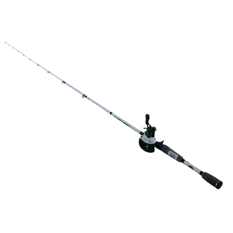 "Survival Nerdz - Mach 1 Speed Spool Baitcast Combo - 6'10"" Length, 7.1:1 Gear Ratio, 9+1 Bearings, Medium-Heavy Power, Right Hand, Fishing,Lews Fishing"