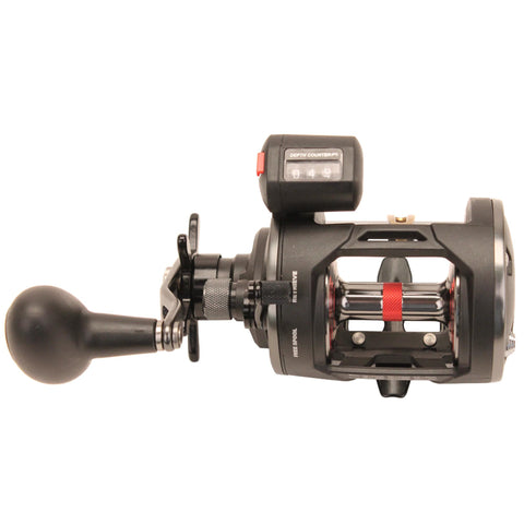 "Survival Nerdz - Warfare Level Wind Conventional Reel - 20, 5.1:1 Gear Ratio, 29"" Retrieve Raate, 15 lb Max Drag, Left Hand, Boxed, Fishing,Penn"