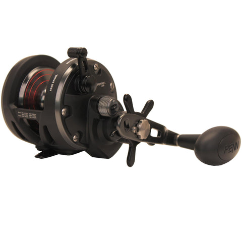 Survival Nerdz - Warfare Star Drag Conventional Reel - 20N, 5.1:1 Gear Ratio, 3 Bearings, 15 lb Max Drag, Ambidextrous, Boxed, Fishing,Penn