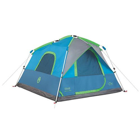 Survival Nerdz - Signal Mountain Instant Tent - 4 Person, Tents,Coleman