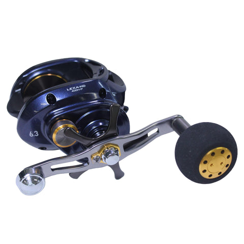 "Survival Nerdz - Lexa Type HD Baitcasting Reel - 6.3:1 Gear Ratio, 7 Bearings, 33.40"" Retrieve Rate, Right Hand, Fishing,Daiwa"