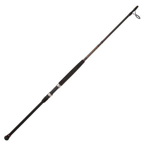 Survival Nerdz - Squadron II Surf Spinning Rod - 10' Length, 2pc Rod, 15-30 lb Line Rate, 1-5 oz Lure Rate, Medium-Heavy Power, Fishing,Penn