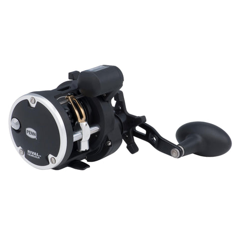 "Survival Nerdz - Rival Level Wind Conventional Reel - 15, 5.1:1 Gear Ratio, 2 Bearings, 29"" Retrieve Rate, Left Hand, Boxed, Fishing,Penn"