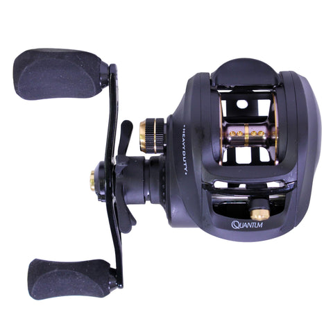 Survival Nerdz - Smoke Heavy Duty Baitcast Reel - 7.3:1, 7 Bearing, Right Hand, Fishing,Zebco / Quantum