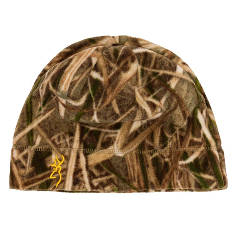 Survival Nerdz - Beanie - Juneau Fleece, Mossy Oak Shadow Grass Blades, Clothing & Apparel,Browning