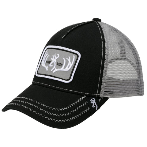 Survival Nerdz - Cap - Typical, Black, Clothing & Apparel,Browning