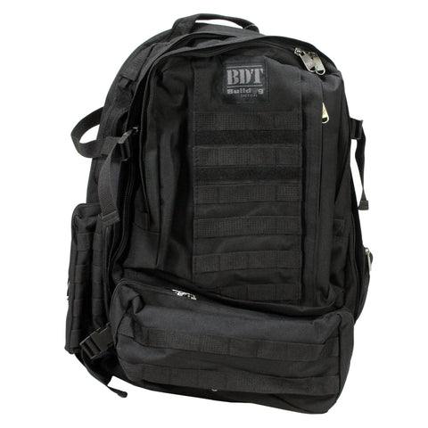 Survival Nerdz - Backpack - Large, Black, Backpacks,Bulldog Cases
